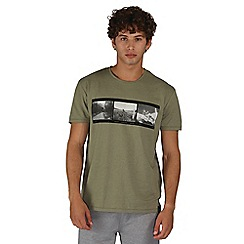 Dare 2B - Green negatives print t-shirt