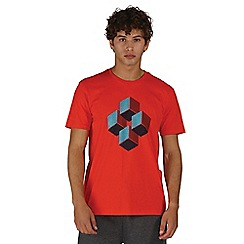 Dare 2B - Orange quixotic print t-shirt