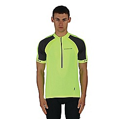 Dare 2B - Yellow outstart cycle jersey top