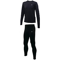 Dare 2B - Black climatise ii base layer set