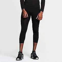 Dare 2B - Black ergonomic zonal 3/4 leggings