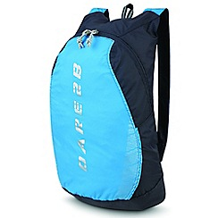Dare 2B - Blue silicone packaway rucksack