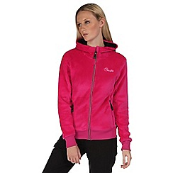 Dare 2B - Electric pink radiant fluffy hooded fleece