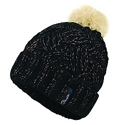 Dare 2B - Black 'Sheen' fleece beanie