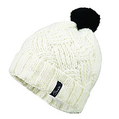 Dare 2B - Cream 'Sheen' fleece beanie