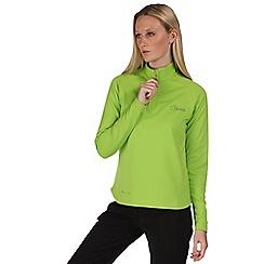 Dare 2B - Lime green loveline zip mid layer