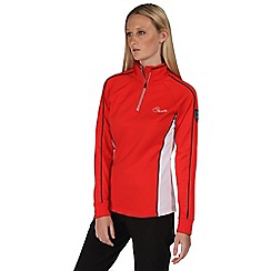 Dare 2B - Red facet core stretch mid layer