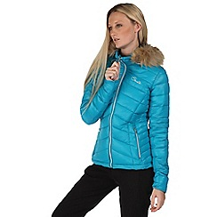 Dare 2B - Bright blue imitate hooded jacket
