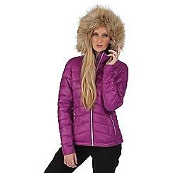 Dare 2B - Purple imitate hooded jacket