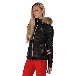 Dare 2B - Black imitate hooded jacket