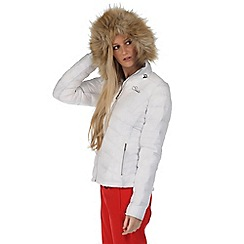 Dare 2B - White imitate hooded jacket