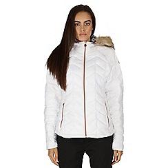 Dare 2B - White Endow microwarmth jacket