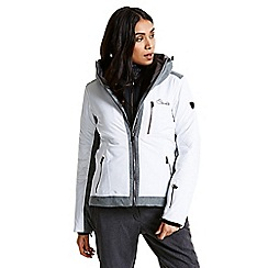 Dare 2B - White 'Shadow cast' black label waterproof ski jacket