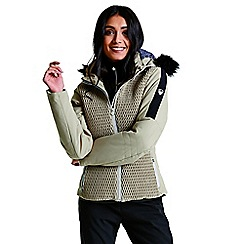 Dare 2B - Brown 'Plica' luxe waterproof ski jacket