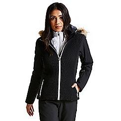 Dare 2B - Black 'Plica' luxe waterproof ski jacket