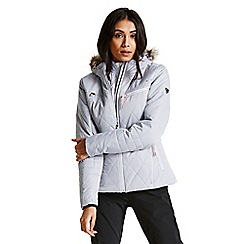 Dare 2B - Grey 'Ornate' luxe waterproof ski jacket