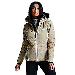 Dare 2B - Brown 'Ornate' luxe waterproof ski jacket