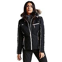Dare 2B - Black 'Ornate' luxe waterproof ski jacket