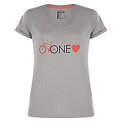 Dare 2B - Light grey one love sport t-shirt
