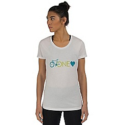 Dare 2B - White one love sport t-shirt