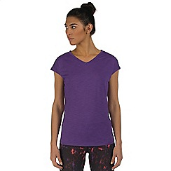 Dare 2B - Purple recover workout t-shirt