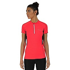 Dare 2B - Bright pink Configure cycling jersey top