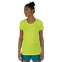 Dare 2B - Yellow impulse lightweight t-shirt