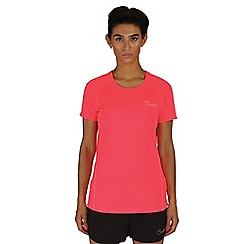 Dare 2B - Pink three strikes sports t-shirt