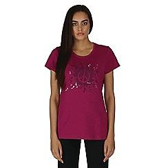 Dare 2B - Purple peace out t-shirt
