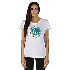 Dare 2B - White peace out t-shirt