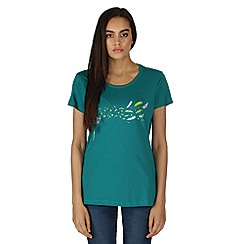 Dare 2B - Green feathery print t-shirt