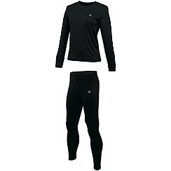 Dare 2B - Black climatise base layer set