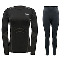 Dare 2B - Black zonal top and legging base layer set