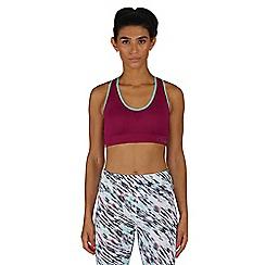Dare 2B - Purple warm up sports bra