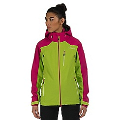 Dare 2B - Green / pink veracity waterproof jacket