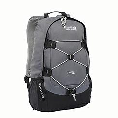 Regatta - Seal grey / black survivor 25L rucksack