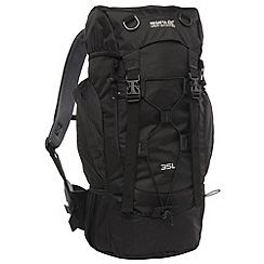 Regatta - Black survivor ii 35l backpack