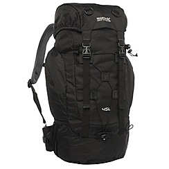 Regatta - Black survivor ii 45l backpack