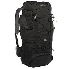 Regatta - Black survivor ii 65l backpack