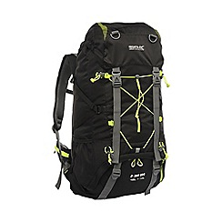 Regatta - Black blackfell 45l+10l backpack