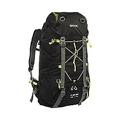 Regatta - Black blackfell 45l+10l backpack
