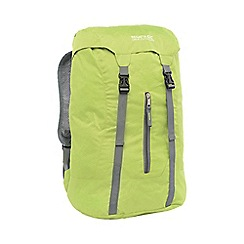 Regatta - Lime green easypack packaway 25l backpack
