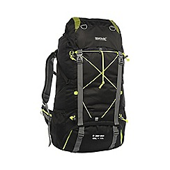 Regatta - Black blackfell 65l+10l backpack