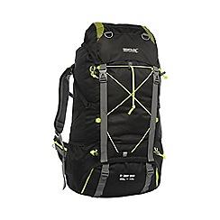 Regatta - Black blackfell 65l+10l backpack