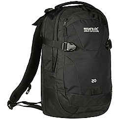 Regatta - Black paladen 20 litre laptop backpack