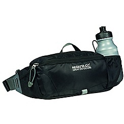 Regatta - Black quito bottle hip pocket