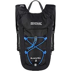 Regatta - Black blackfell 2 litre back pack