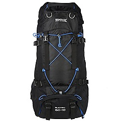 Regatta - Black blackfell 70 litre back pack