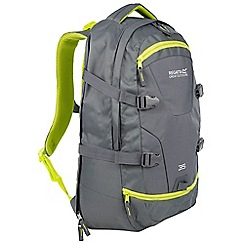 Regatta - Grey Paladen 35 litre laptop back pack
