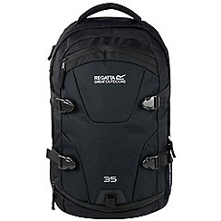 Regatta - Black Paladen 35 litre laptop back pack